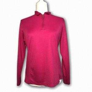 BERMUDA SANDS Small Pink Long Sleeve Golf Apparel